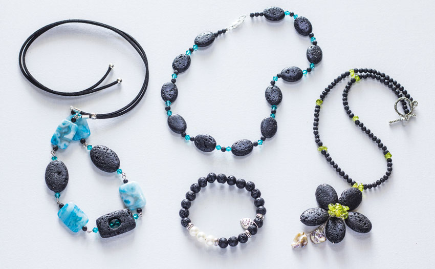 Quality handmade jewellery Lanzarote - Vulcana Collection by Anna Tornese